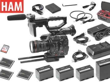 Rent: Canon EOS C300 Mark II EF, 24-105mm f/4L USM IS, (3) 256GB