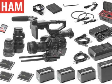Rent: Canon EOS C300 Mark II, Sigma Art 18-35mm, 50-100mm, 11-16mm