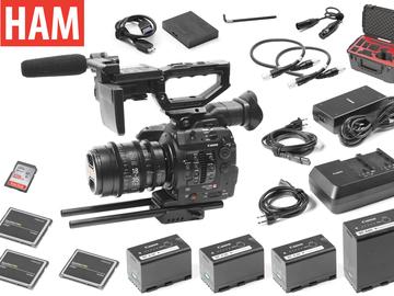Rent: Canon EOS C300 Mark II, Sigma Cine 18-35mm T2 Lens (3) 256GB