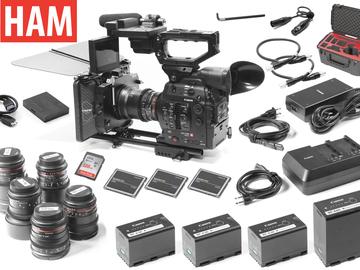 Rent: Canon EOS C300 Mark II, (6) Rokinon Lenses, Tilta Matte Box