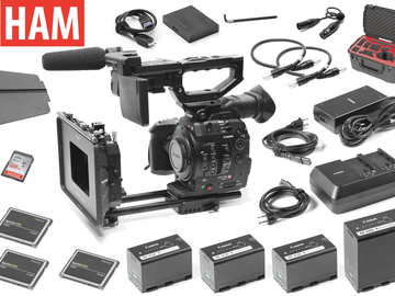 "Rent: Canon C300 Mark II 2, Tilta 4x5.65"" Matte Box, (3) 256GB"