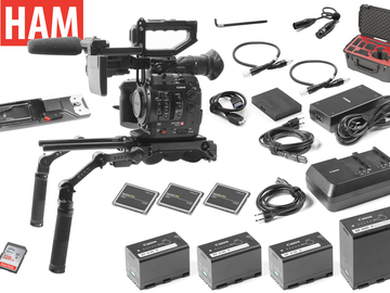 Rent: Canon EOS C300 Mark II EF with Shoulder Rig (3) 256GB