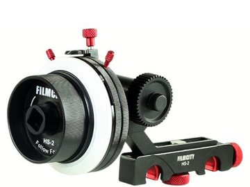 Rent: FilmCity HS-2 15mm Follow Focus