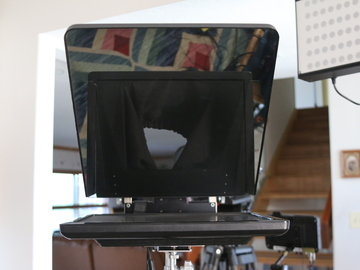 """Prompter People 17"""" and 15"""" teleprompter systems"""