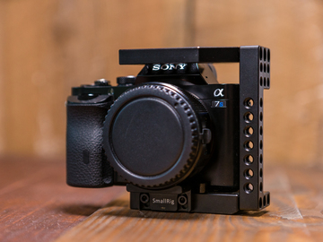 Rent: Sony Alpha a7S Mirrorless Digital Camera w Cage & Batteries