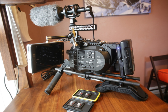 Sony PXW-FS7 XDCAM Super 35 Camera