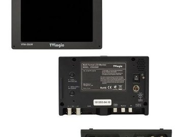 "Rent: TV Logic 5.6"" Monitor VFM-056WP w/ Canon battery mount"