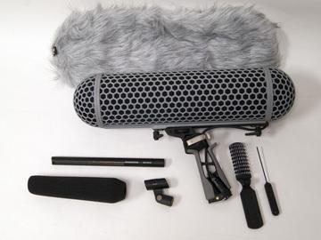 Rent: Sennheiser MKH 416 Shotgun Mic w/Blimp & Dead Wombat