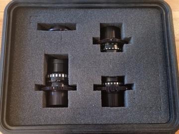 Rent: Kiev 16-U Vintage Russian Lens set