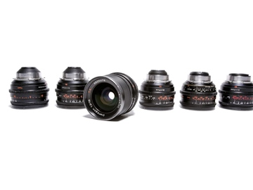 Rent: ZEISS SUPER SPEED SET + 65mm T1.3 (18, 25, 35, 50, 65, 85)