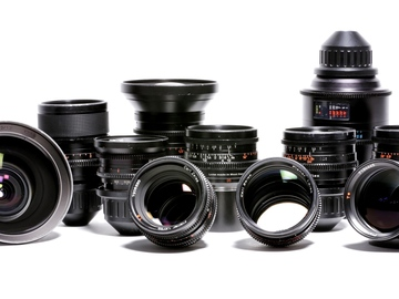 Rent: (12 LENSES) SUPER SPEED MARK II + RARE 65MM + LOTS OF EXTRAS