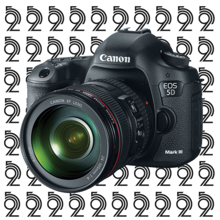 Canon EOS 5D Mark III Kit + 24-105mm f/4 L IS USM Lens