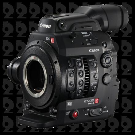 Canon EOS C300 Mark II Cinema Camera + 768GB in Cards