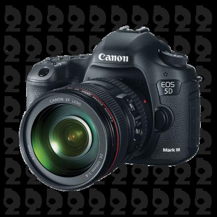 Canon EOS 5D Mark III Kit + 50mm f/1.4 USM Lens