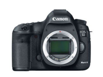 Canon EOS 5D Mark III w/ Batteries and Card