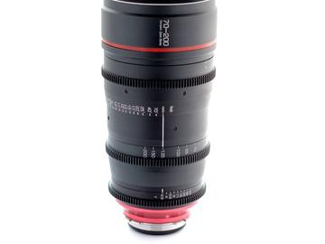 Rent: CANON fd-L  - G.L. Optics 70-200mm PL Mount Zoom Lens