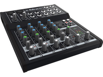 Rent: Mackie Mix 8 8-Channel Mixer