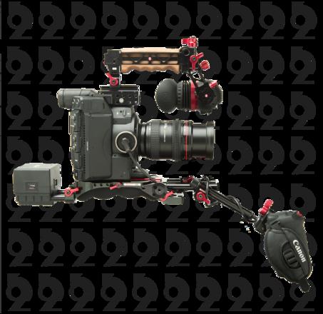 Canon EOS C300 Mark II Kit + Zacuto EVF Rig + 24-105mm f/4 L