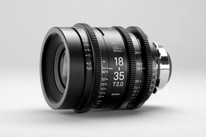 Sigma 18-35mm T2 Cine (PL Mount)