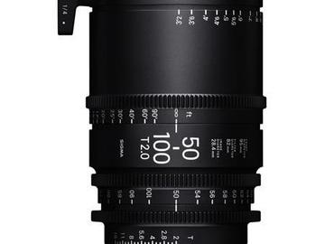 Rent: Sigma 50-100mm T2 Cine (PL Mount)