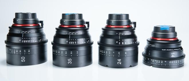 Rokinon XEEN 4-Lens Set EF Mount