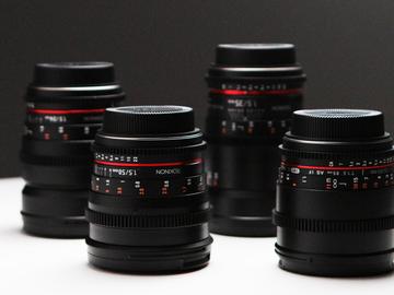 Rokinon Cine DS Lens Set + Travel case