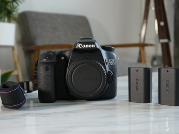 Rent: Canon EOS 70D DSLR Body