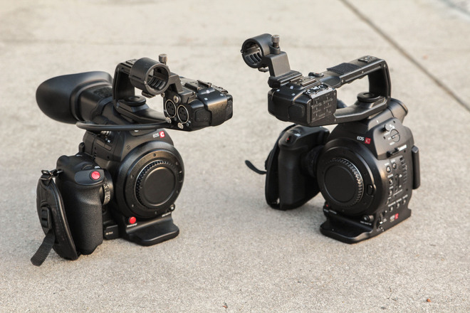 2x Canon C100 (Mk1 and Mk2) Package