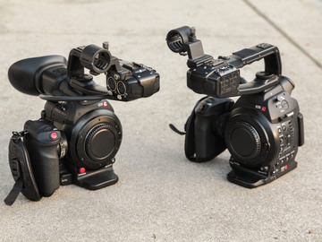 Rent:  2x Canon C100 (Mk1 and Mk2) Package