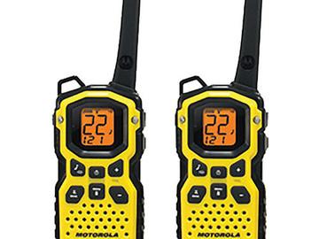 Rent: Motorola Talkabout MS350R 2-Way Radio - Set of 4