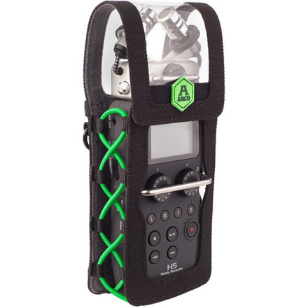 Zoom H5 Recorder, Windscreen, Belt Pouch, Headphones