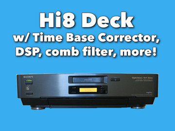 Rent: Sony EV-S7000 Hi8 Deck w/ Time Base Corrector