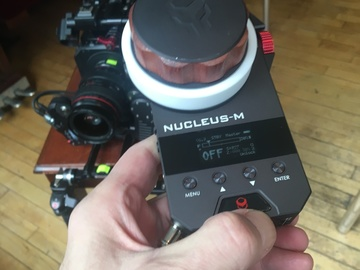 Rent: Tilta Nucleus-M: Wireless Follow Focus System | Brand New