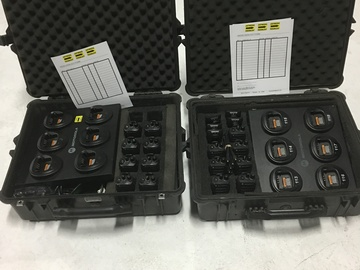 Rent: 16 Motorola  CP200 16 Channel Walkie Talkies Radios