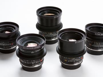 Rent:  Leica-R Summilux Duclos 6 Lens Set