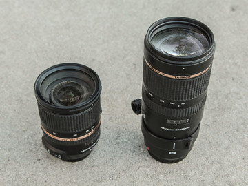 Rent: Tamron 24-70mm f/2.8 and 70-200mm f/2.8 EF Mount for Canon