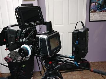 Rent: Blackmagic Cinema Camera 2.5K Full Package