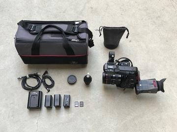 Rent: Canon C100 w/ Dual Pixel AF with 24-105mm f/4L IS USM Lens