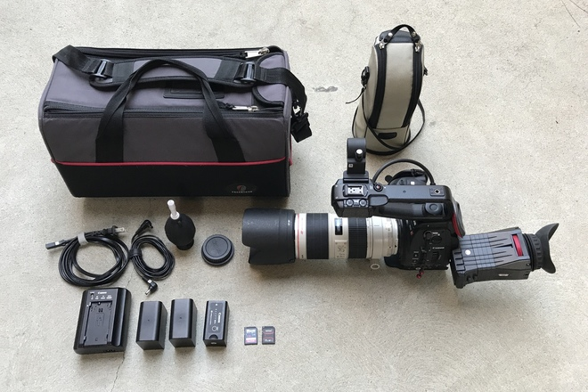 Canon C100 w/ Dual Pixel AF and 70-200 f/2.8L IS II Lens