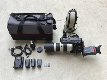 Rent: Canon C100 w/ Dual Pixel AF and 70-200 f/2.8L IS II Lens