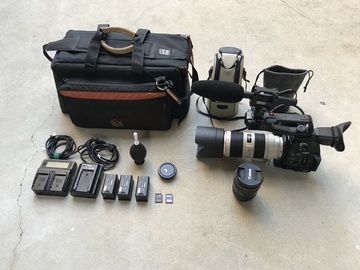 Rent: Canon C100 MKII, 70-200mm f/2.8L IS II, 24-105 f/4L, and Mic