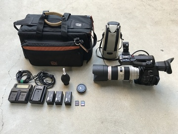 Rent: Canon C100 MKII with 70-200mm f/2.8L IS II USM Lens