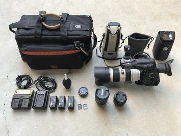 Rent: Canon C100 MKII, 70-200 f/2.8L II, 24-105 f/4L IS, 35mm f/2