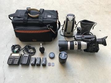 Rent: Canon C100 MKII w/ 70-200mm f/2.8L IS II USM, 24-105 f/4L IS