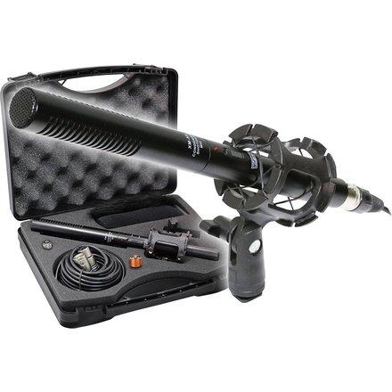 Boom Pole with Shotgun Microphone