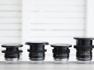 6 Lens Leica R Set