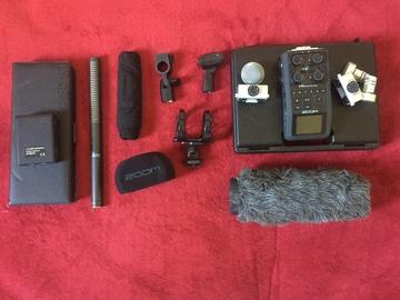 Rent: Zoom H6 AT897 shotgun AT8531 lav package
