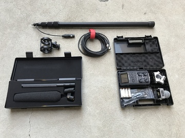 Rent: Sennheiser 416 Shotgun, Zoom H6, Boompole, Shock Mount