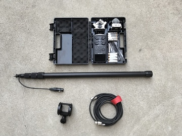 Rent: Zoom H6 Handy Recorder, Boompole, Shock Mount Audio Package