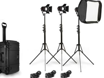 Rent: Fiilex 302 3-Light Kit